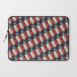Vintage Texas state flag pattern Laptop Sleeve