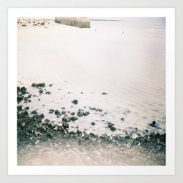 st ives beach Art Print