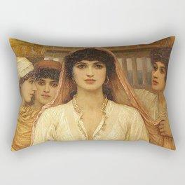 Queen Esther - Kate Gardiner Hastings Rectangular Pillow