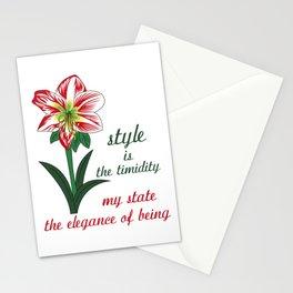 Amarillis Stationery Cards