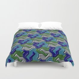 Geometrix 103 Duvet Cover