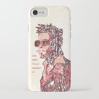 tyler spangler iPhone & iPod Cases featuring Tyler by Fimbis