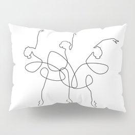 Ballet x 3 Pillow Sham