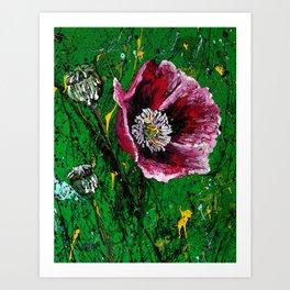 Opium Gum Remix Art Print