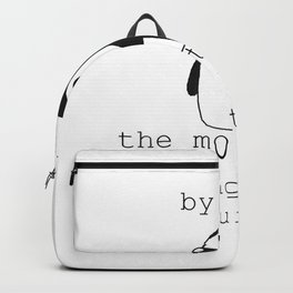 Penguin Gunter Quote T-Shirt Backpack