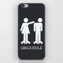 Girls Ruler Roller Derby iPhone Skin