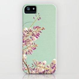 Wisteria iPhone Case