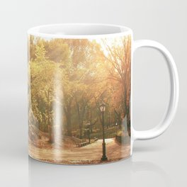 Autumn Sunlight - New York City Coffee Mug