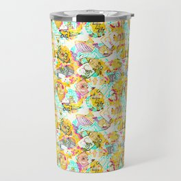 Graffiti texture Travel Mug
