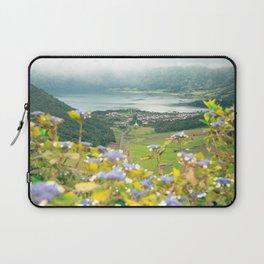 Sete Cidades crater lake Laptop Sleeve