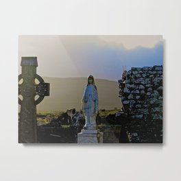 Corcomeroe Abbey, County Clare Ireland Metal Print