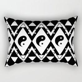 Prismatic Yin & Yang Rectangular Pillow