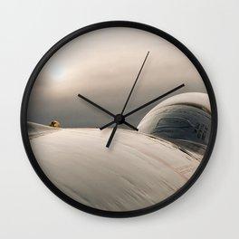 RCAF (89) T- Bird Considers a Sunset. Wall Clock