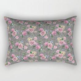 Subtle Dyck (floral dicks) Rectangular Pillow