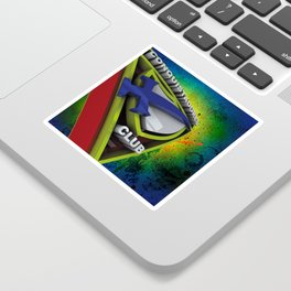 Conquistador 3D streetArt Sticker