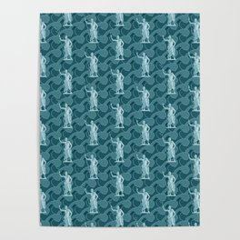 Poseidon OCEAN BREEZE / All hail the god of the sea Poster