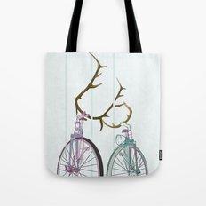 Bicycles in Love Tote Bag