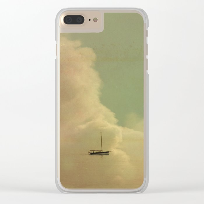 Once Upon a Time a Little Boat Clear iPhone Case