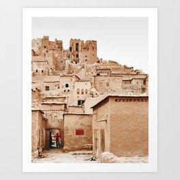 Castle in Morocco Art Print