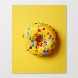 Colorful Donut Canvas Print