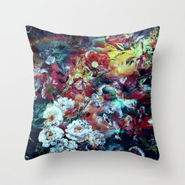 RPE SEAMLESS FLORAL VII Throw Pillow