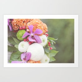 Floral Touch Art Print