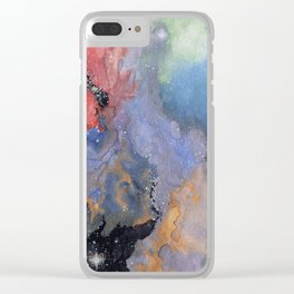 Nebula Rasa Clear iPhone Case