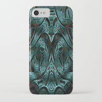 viking iPhone & iPod Cases featuring Viking by RingWaveArt