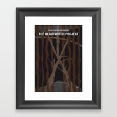 No476 My The Blair Witch Project minimal movie poster Framed Art Print