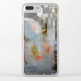 Indifference Clear iPhone Case