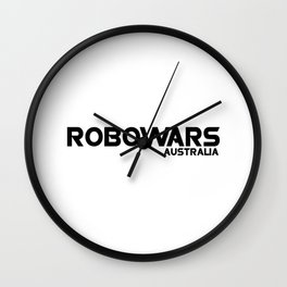 Robowars AU Logo Wall Clock