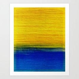 on the horizon Art Print