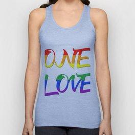 One Love Unisex Tank Top