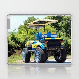 Two Tone Golf Cart Laptop & iPad Skin