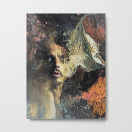 Can't Change Me Metal Print