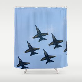 Blue Angels in Seattle Shower Curtain