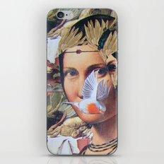 LA BELLE FERRONIERE EN CRAQUELURES iPhone & iPod Skin