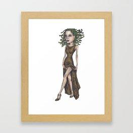 Gorgon Framed Art Print