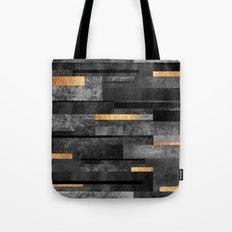 Urban Black & Gold Tote Bag