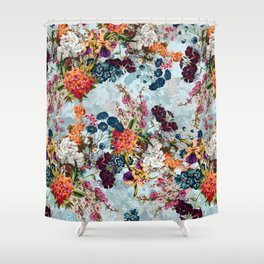 Summer Botanical Garden VIII Shower Curtain