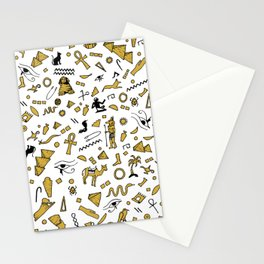 Egyptian Mini Hieroglyphics Stationery Cards