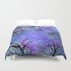 Sky dreams. Serial. Blue Duvet Cover