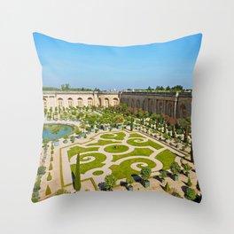 The Orangerie at Versailles Throw Pillow