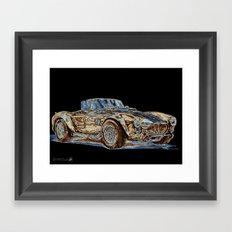 1965 Shelby AC Cobra Framed Art Print