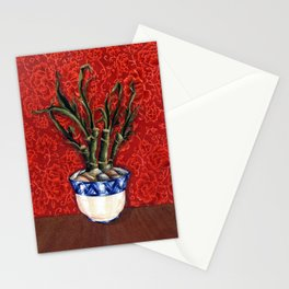 """""""Lucky Bamboo"""" Stationery Cards"""