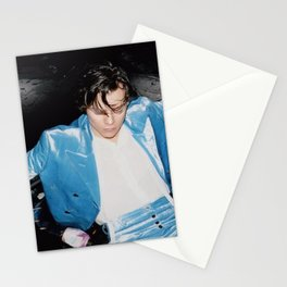 harry blue Stationery Cards