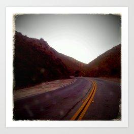 Sierra Highway Art Print