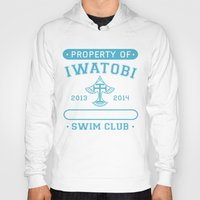 iwatobi Hoodies featuring Free! Iwatobi Swim Club - Athletic  by Cup of June