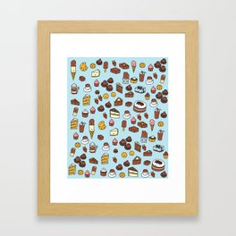 Chocolate Treats Framed Art Print