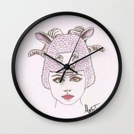 Animalia 2 Wall Clock